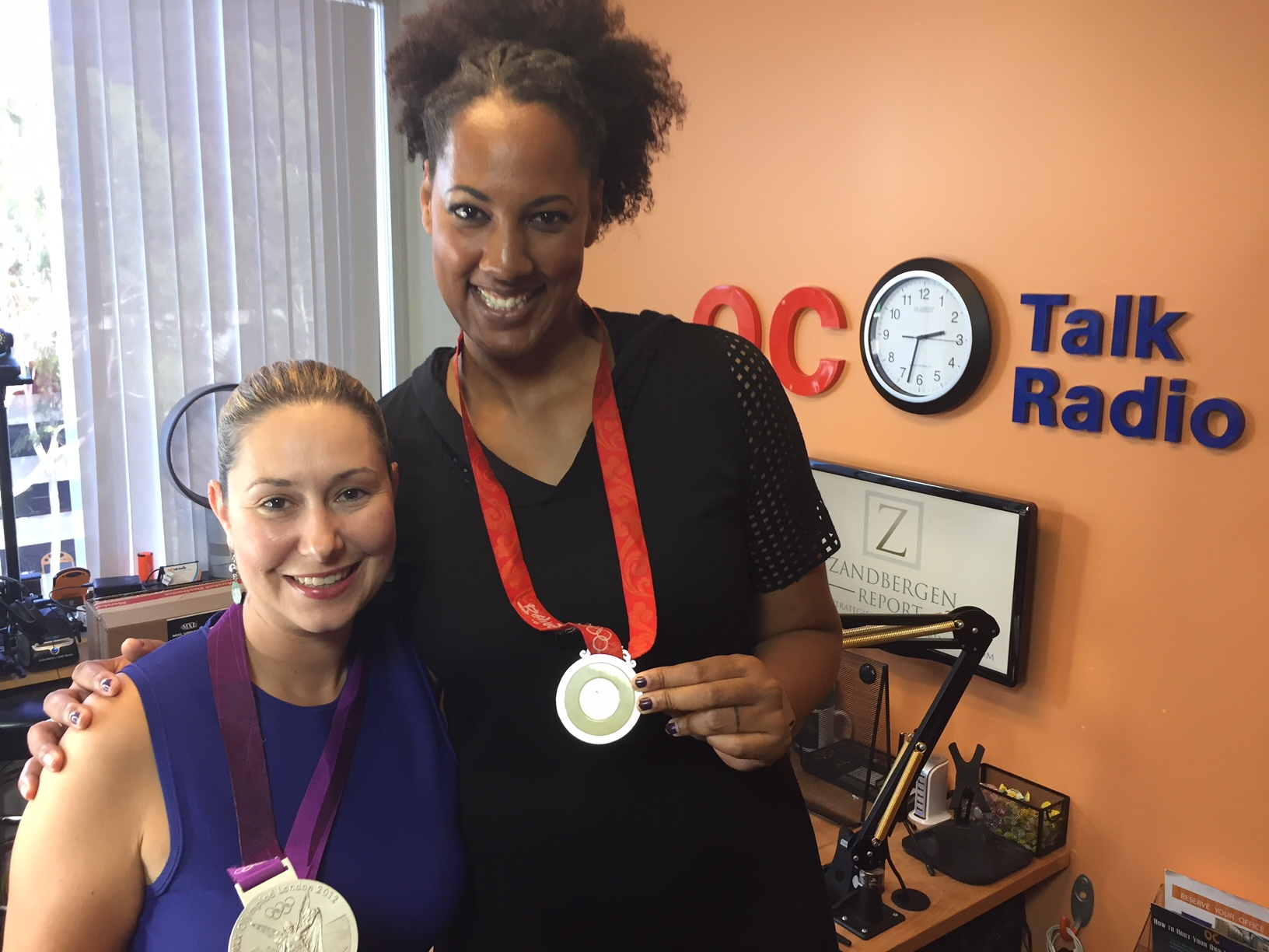 Olympic Champion Tayyiba Haneef-Park Joins Us in the Studio