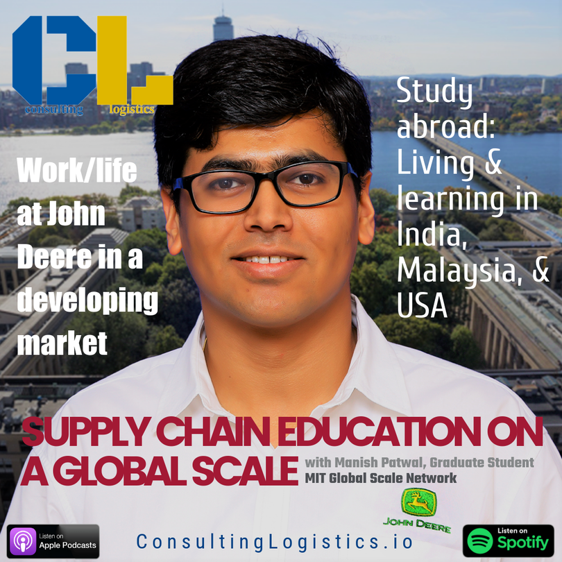 Supply Chain Education on a Global SCALE with Manish Patwal