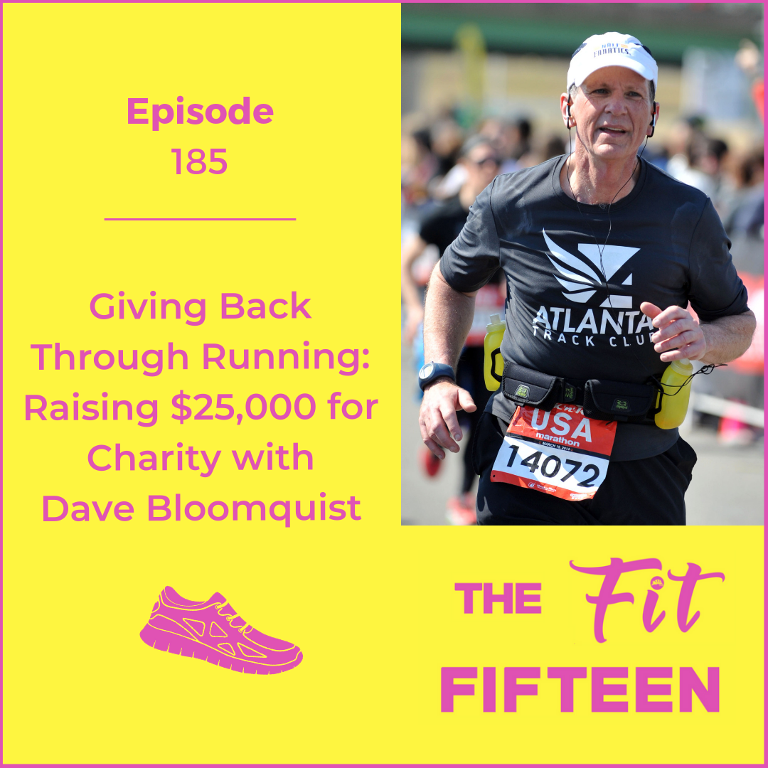 Giving Back Through Running: Raising $25,000 for Charity with Dave Bloomquist