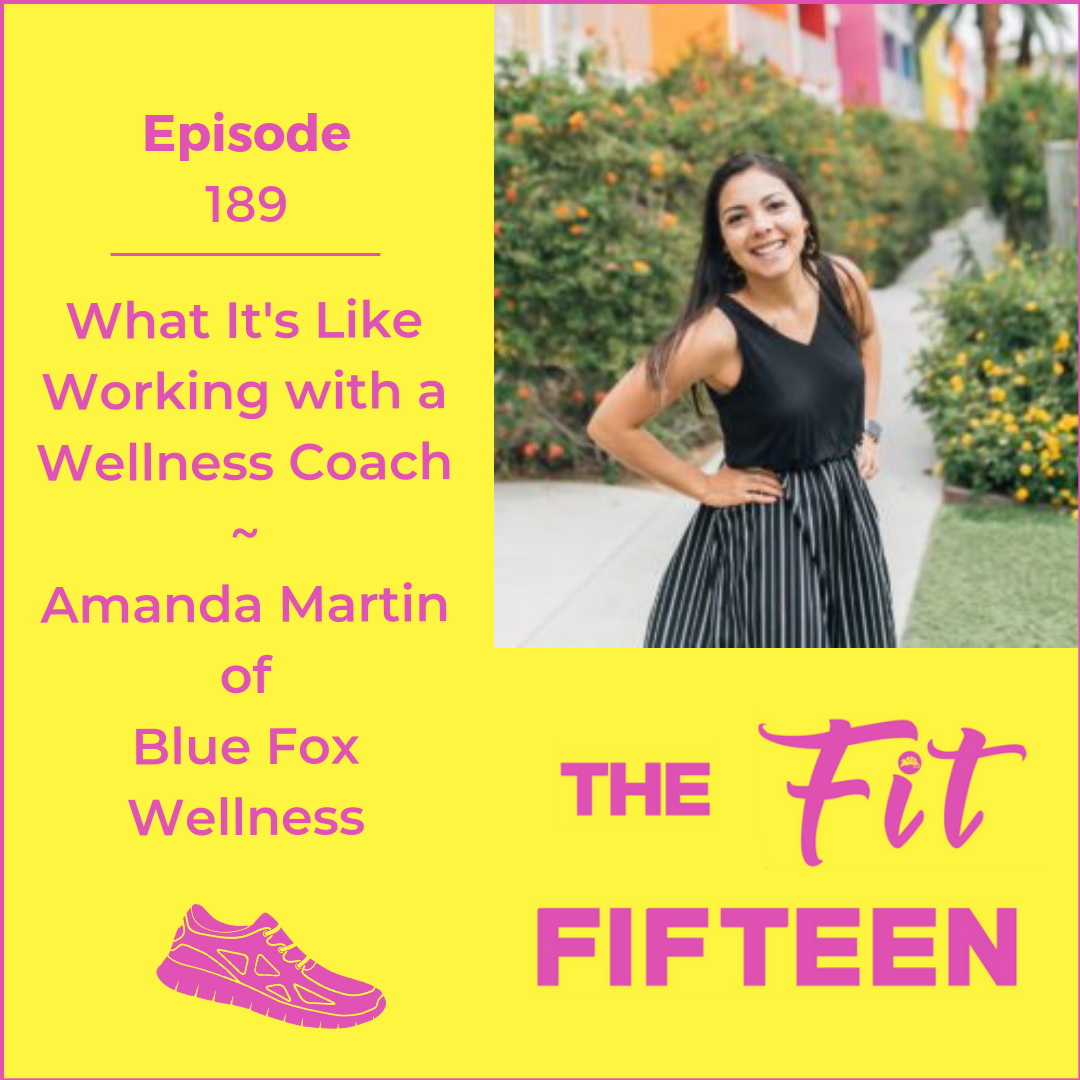 What It's Like Working with a Wellness Coach | Amanda Martin of Blue Fox Wellness