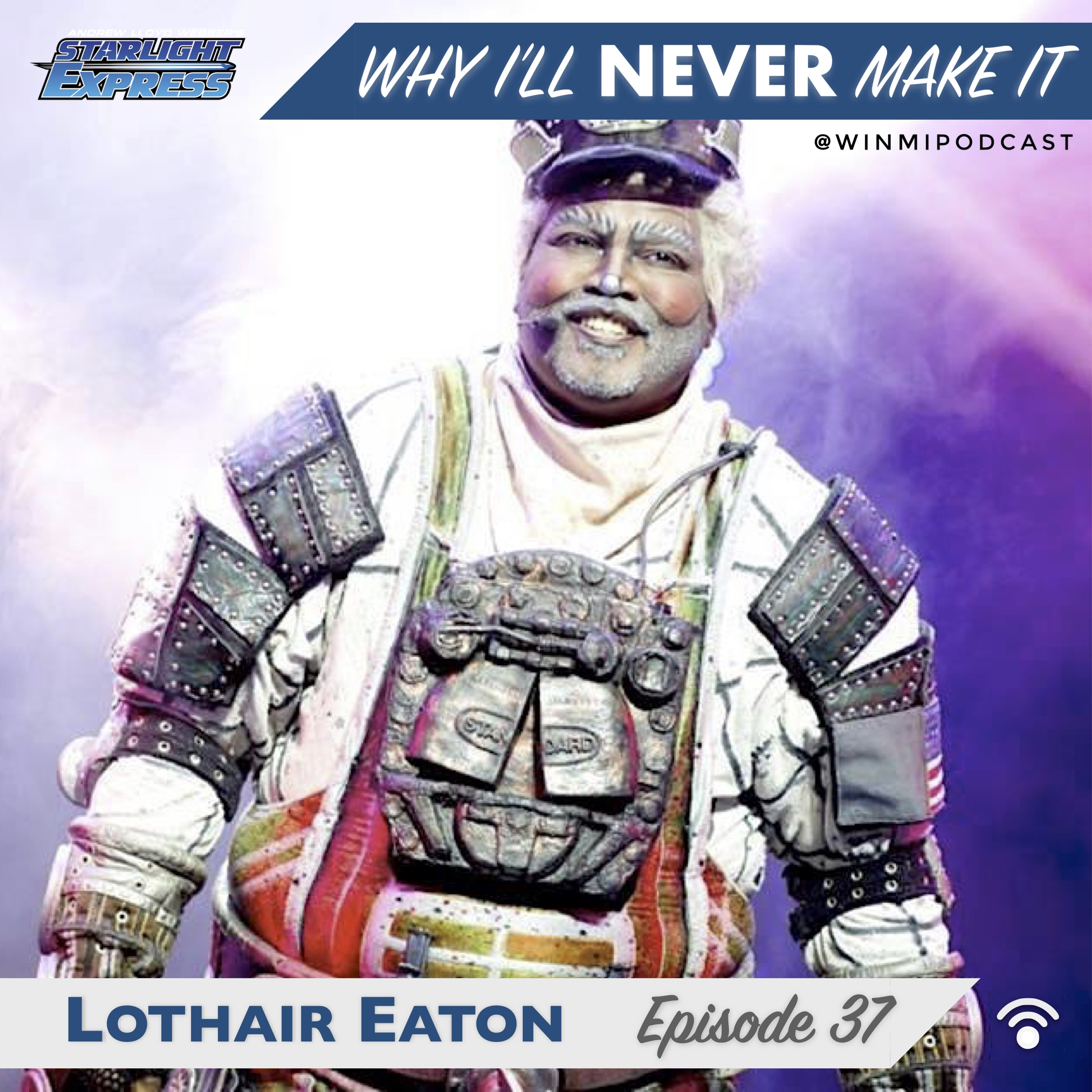 Lothair Eaton - Actor, Singer, U.K. and Germany STARLIGHT EXPRESS