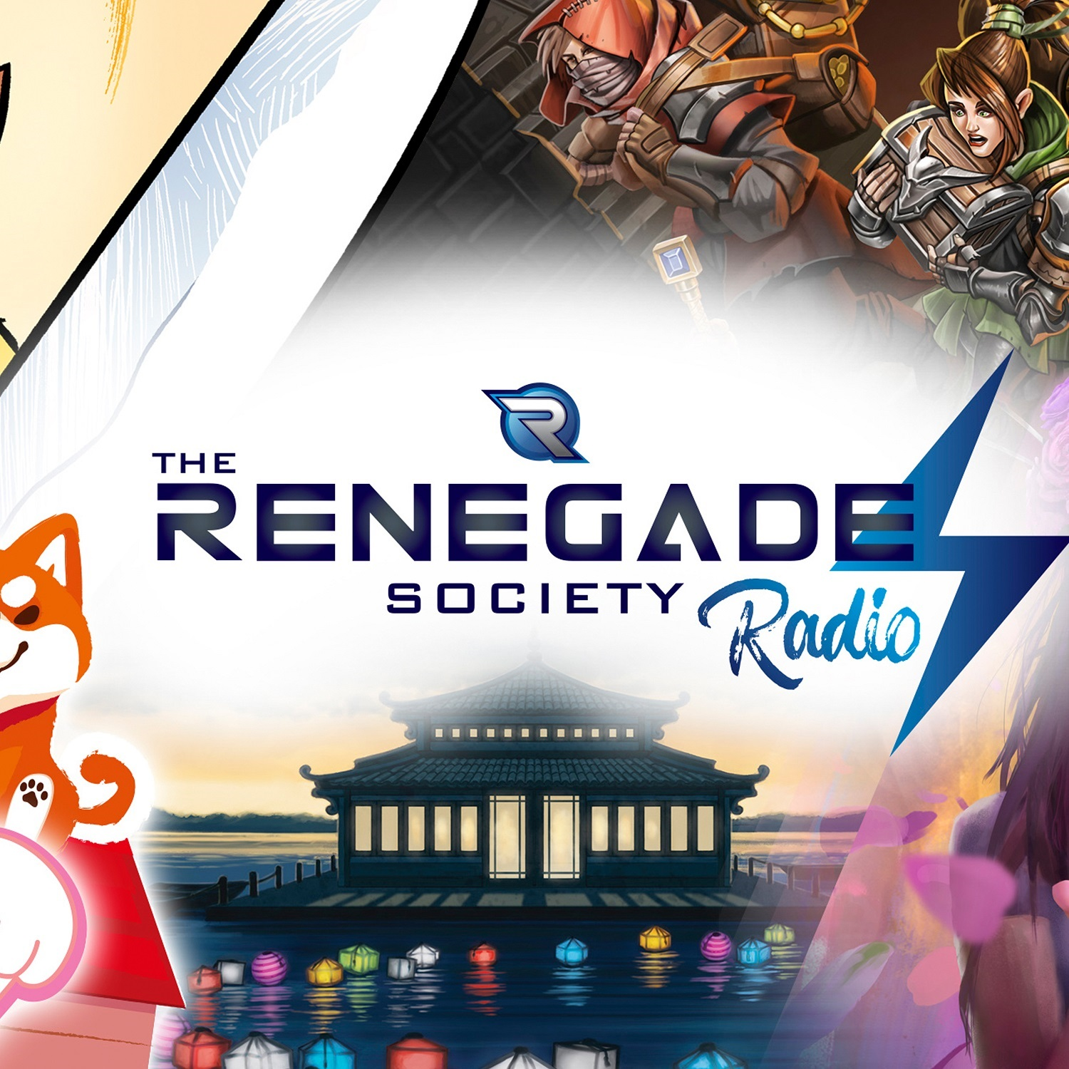 Renegade Society Radio Live with Randy Hoyt from Foxtrot Games!