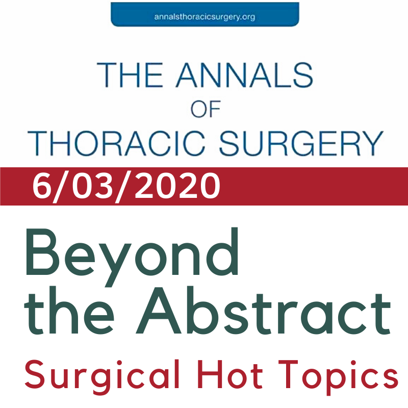 Beyond the Abstract: The Society of Thoracic Surgeons Thoracic Surgery Practice and Access Task Force—2019 Workforce Report