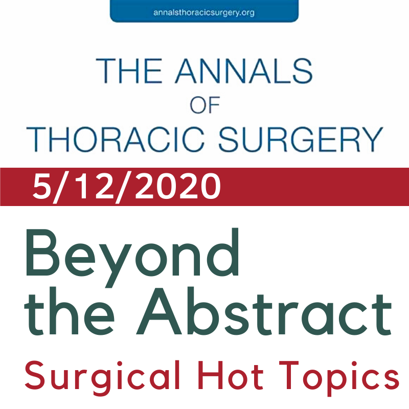 Beyond the Abstract: Pain and Opioid Use After Thoracic Surgery