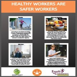 Healthy Workers are Safer Workers (Live Campaign Launch)