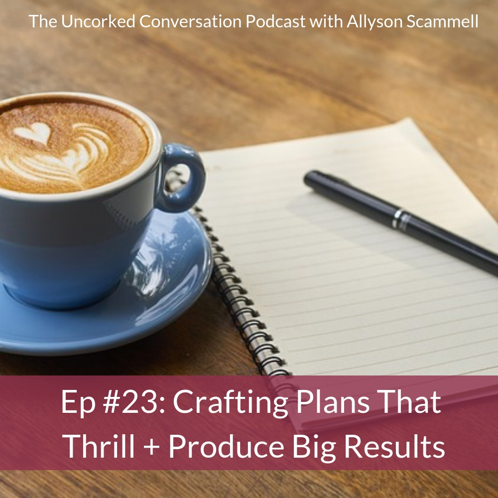Ep #23: Crafting Plans that Thrill + Produce Big Results