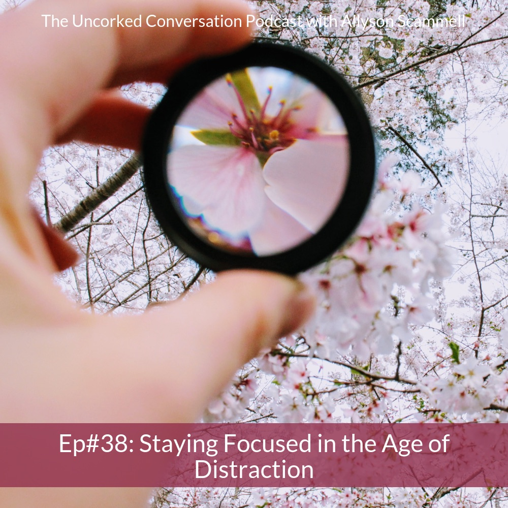 Ep #38: Staying Focused in the Age of Distraction