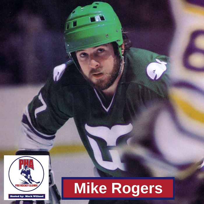 #30 Mike Rogers - 3-Time 100-point Scorer with the New York Rangers and Hartford Whalers