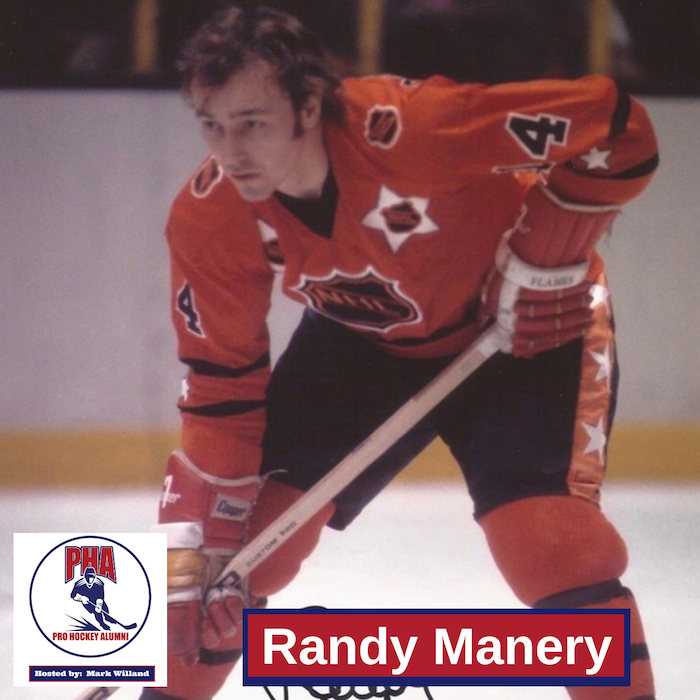 #31 Randy Manery - The Flames First All Star
