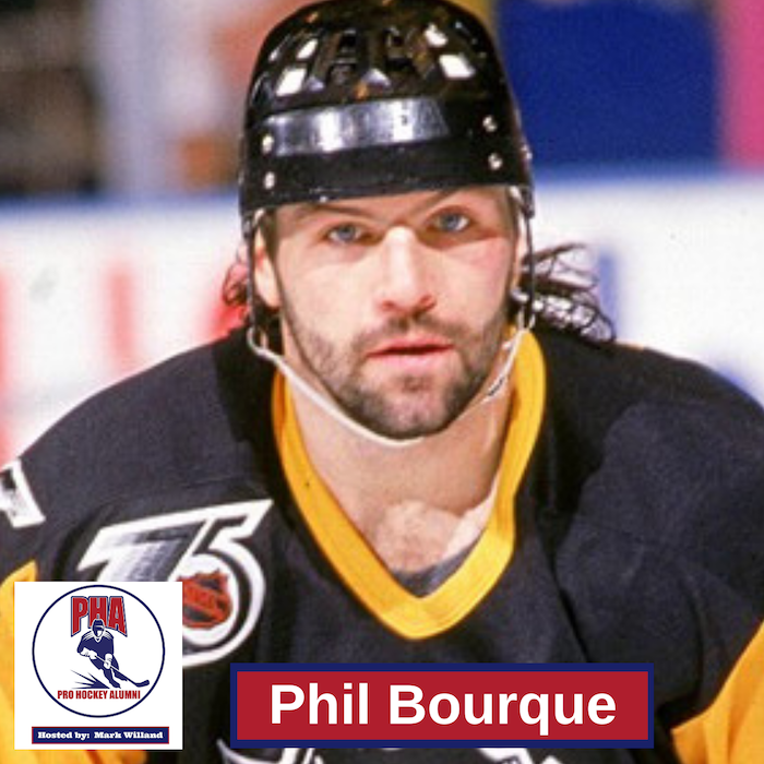#35 Phil Bourque: Pittsburgh Penguins Stanley Cup Winner in 1991 and 1992
