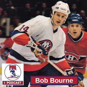 #67 Bob Bourne - New York Islanders Hall of Famer and 4-time Stanley Cup Champion