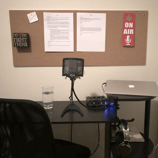 Behind the Scenes at The Peaceful Life Podcast