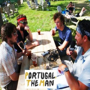 Portugal. The Man Interview at Bonnaroo Music and Arts Festival - Classic Moe Train's Tracks
