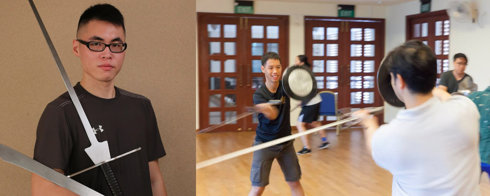 Real Fake Swords and Fake Real Swords Episode 53: Kenric Lee and Rigel Ng, HEMA in Singapore