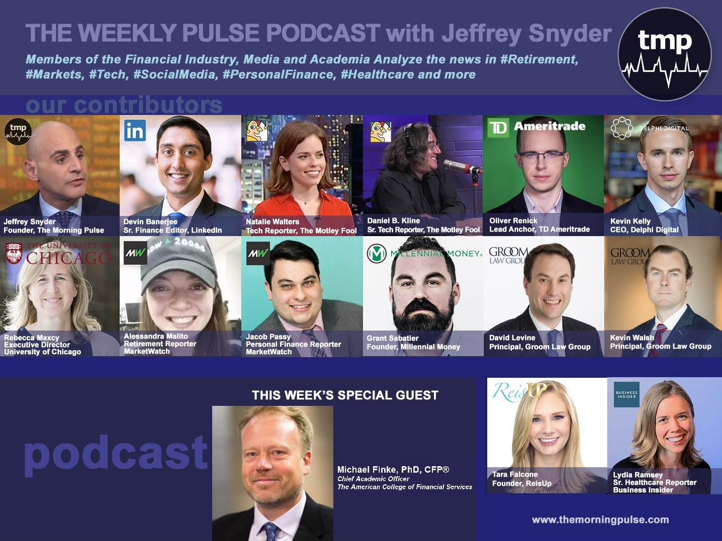 The Weekly Pulse Podcast for Sunday, April 21, 2019
