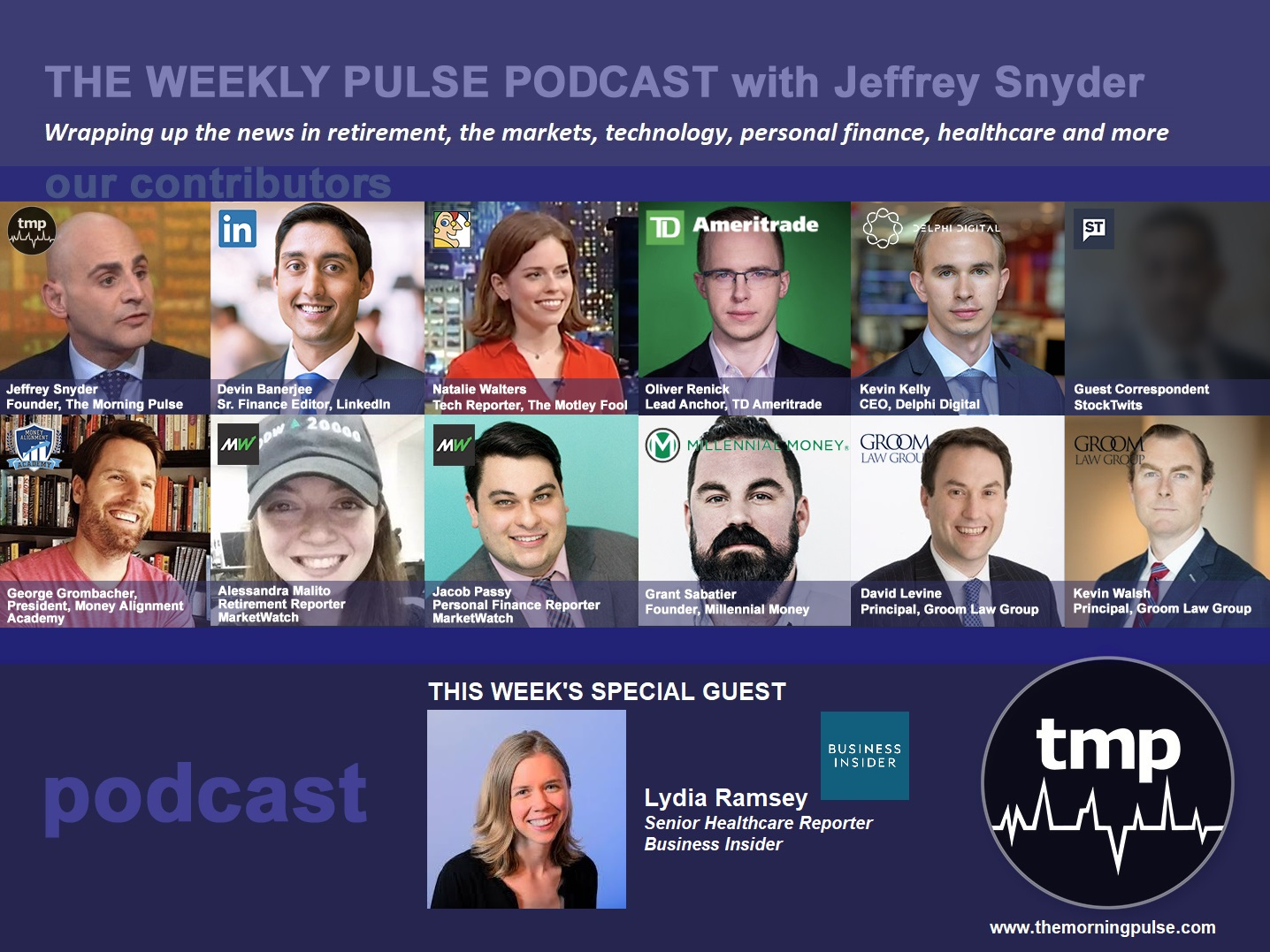 The Weekly Pulse Podcast for Sunday, March 31, 2019