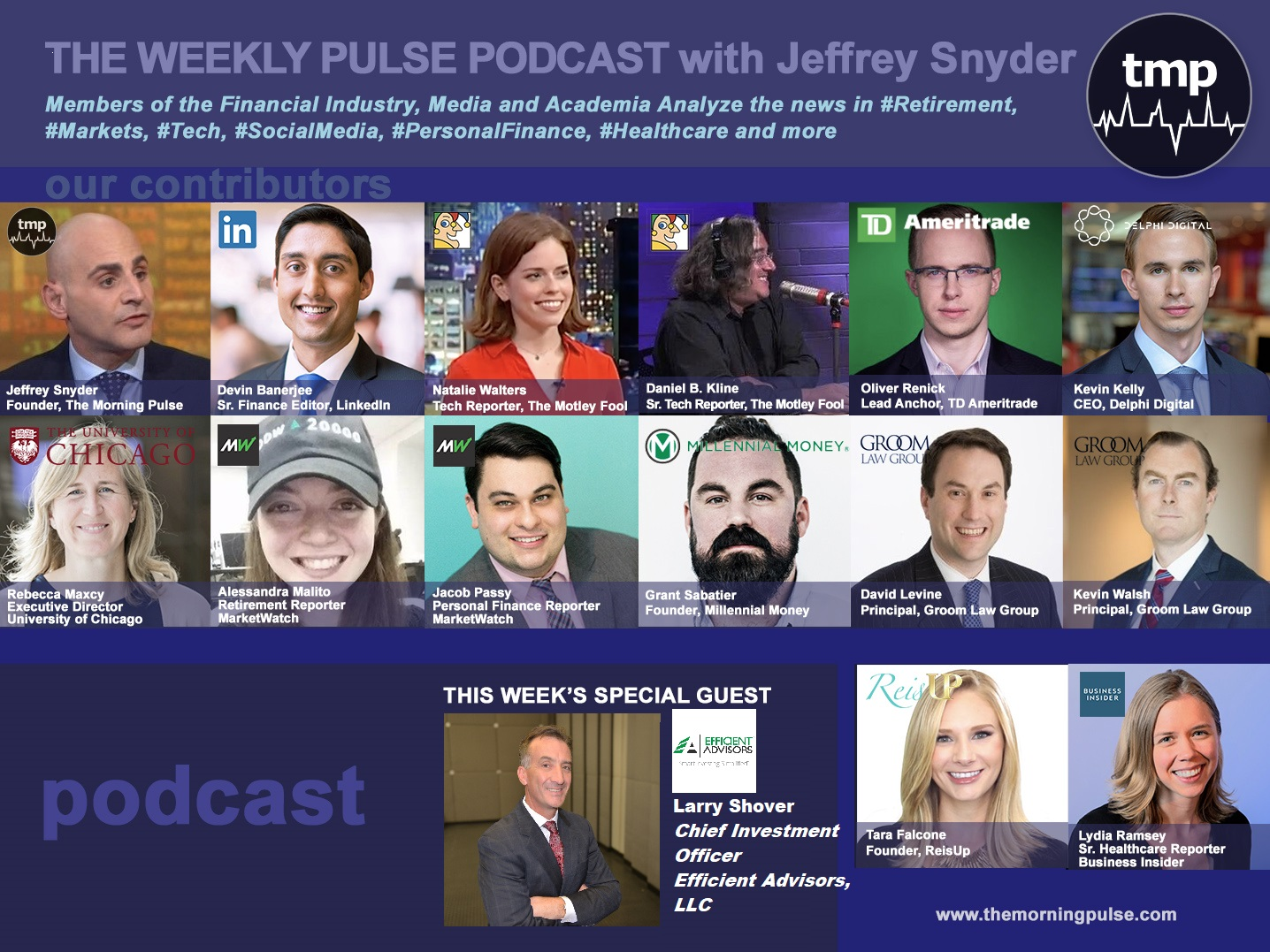 The Weekly Pulse Podcast for Sunday, May 19, 2019