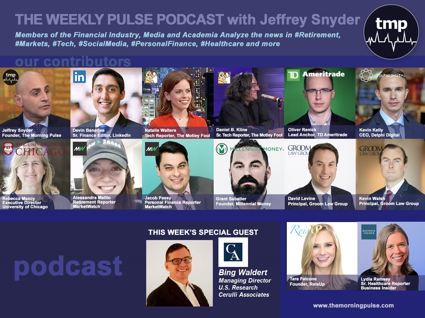 The Weekly Pulse Podcast for Sunday, April 28, 2019