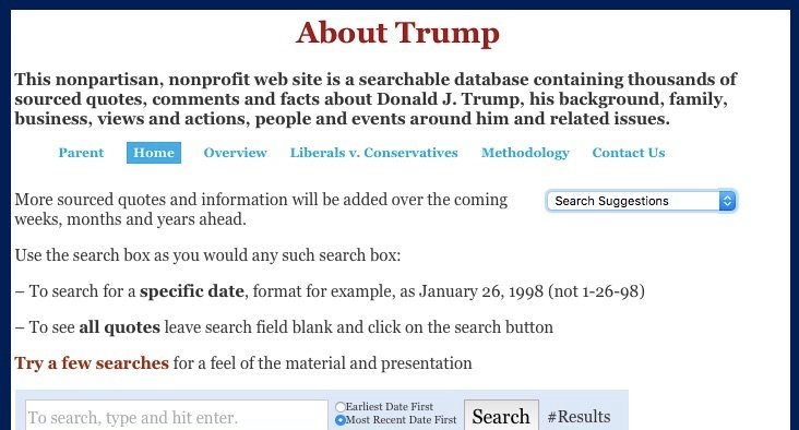 Toastcaster 87 Looking for real Donald Trump quotes? How about 10,000?