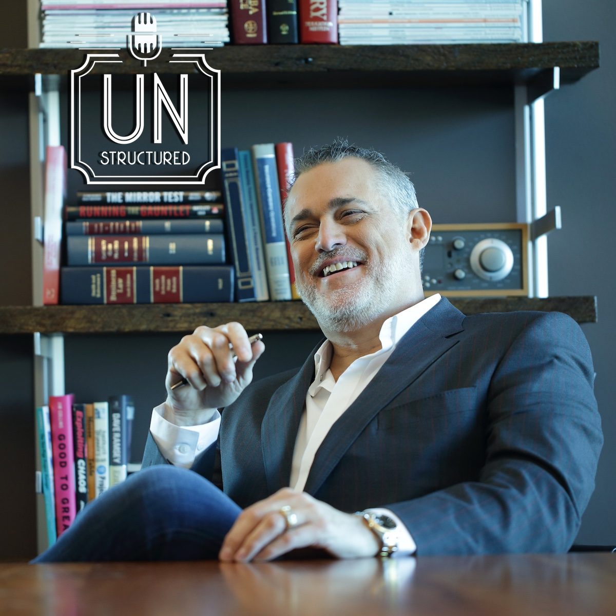 124 - Jeffrey Hayzlett runs the C-Suite Television and Radio Networks