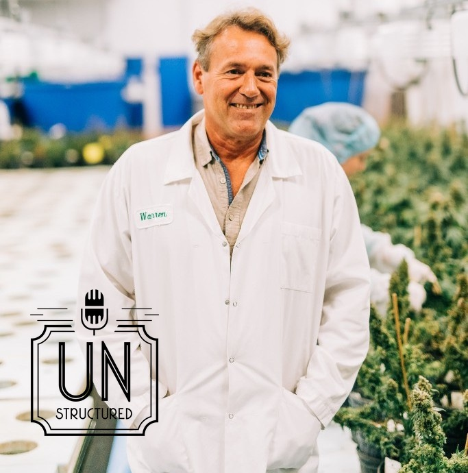 120 - Warren Bravo of Green Relief grows medical cannabis using aquaponics