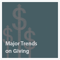 Major Trends on Giving