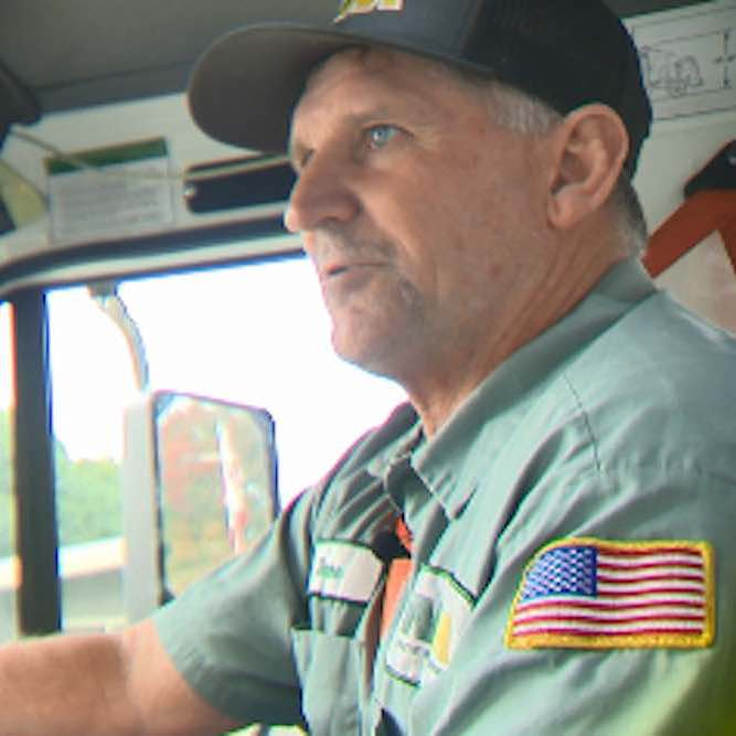 Another Hero–When Garbageman Refuses to Flee Wildfires So He Can Check On Seniors Along His Route
