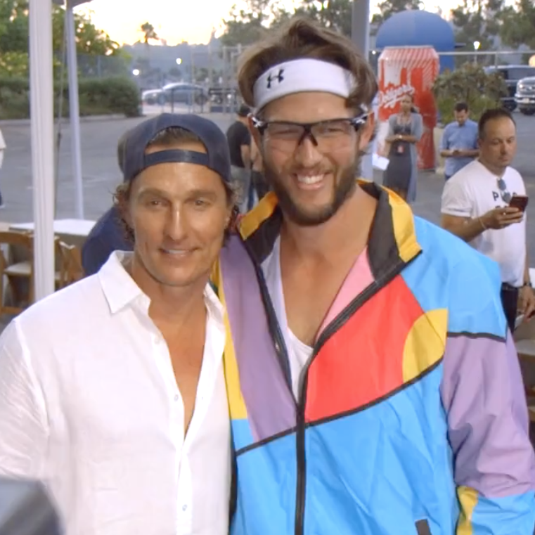 Baseball Playoff Winners and Celebrities Play Ping-Pong in Dodger Stadium to Lift Kids From Trafficking