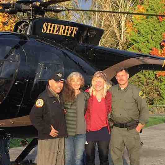 Hiker Was About to Die in a Snowstorm When She Was Saved by a Total Stranger Following Her Intuition