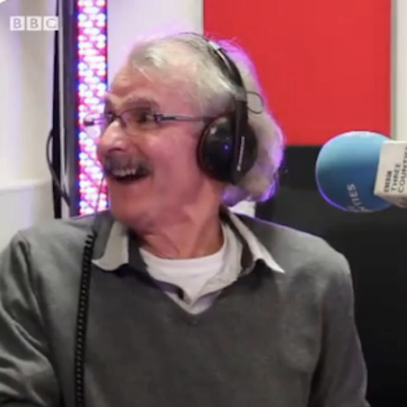DJ Spins Records From His Garden Shed Since 1974 for an Audience of One – His Wife