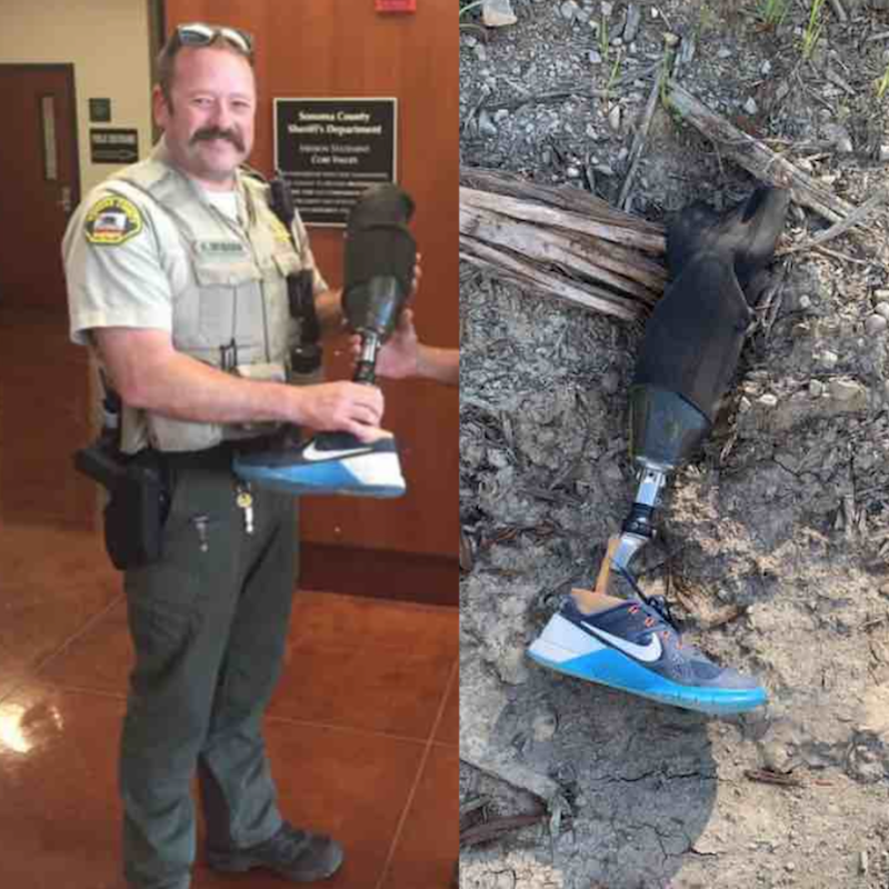 Solving the Mystery of a Prosthetic Leg Found Atop a Pile of Sawdust Reveals Man's Passionate Hobby