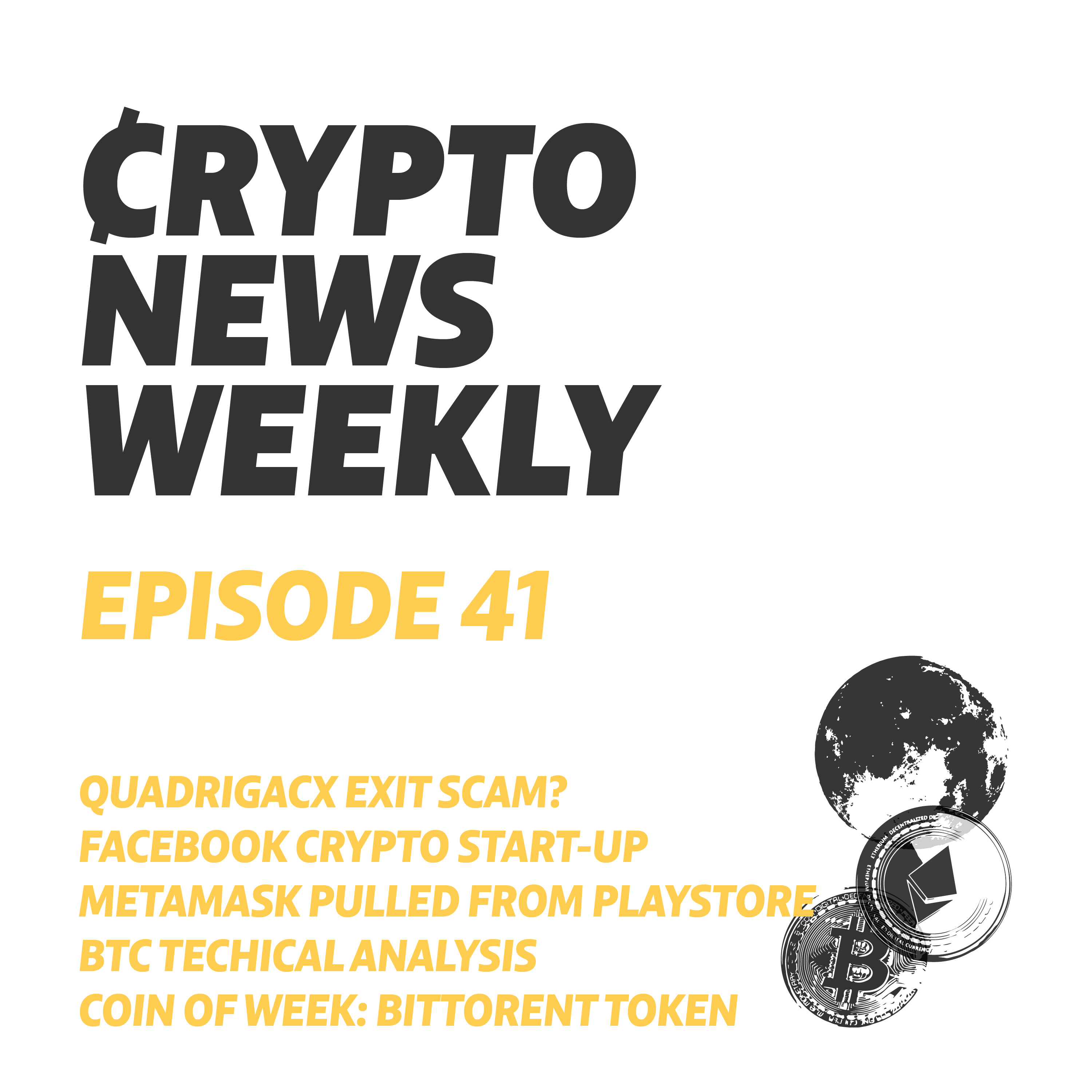 Ep044 - Crypto News Weekly - Tether being backed by what?
