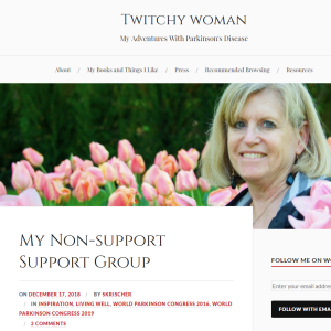 An Initiative for Women with Parkinson's