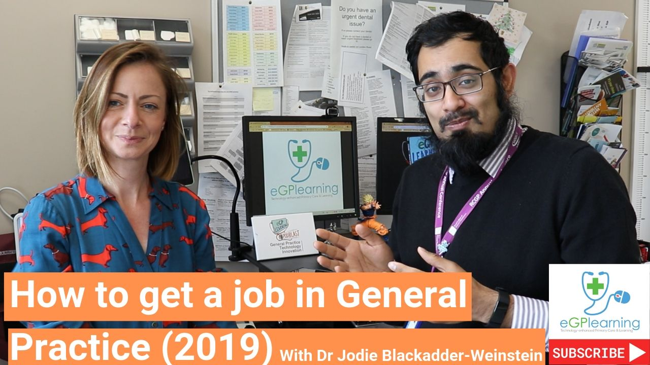 How to get a job in General Practice (2019)