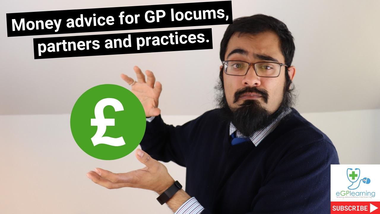 Money advice for GP locums, partners and practices