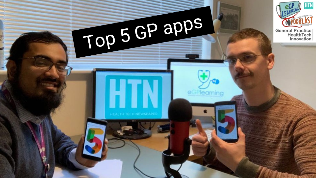 Top 5 GP apps eGPlearning Podblast