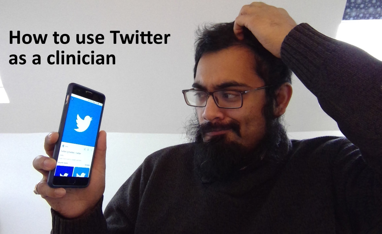 How to use Twitter as a clinician- hints and tips
