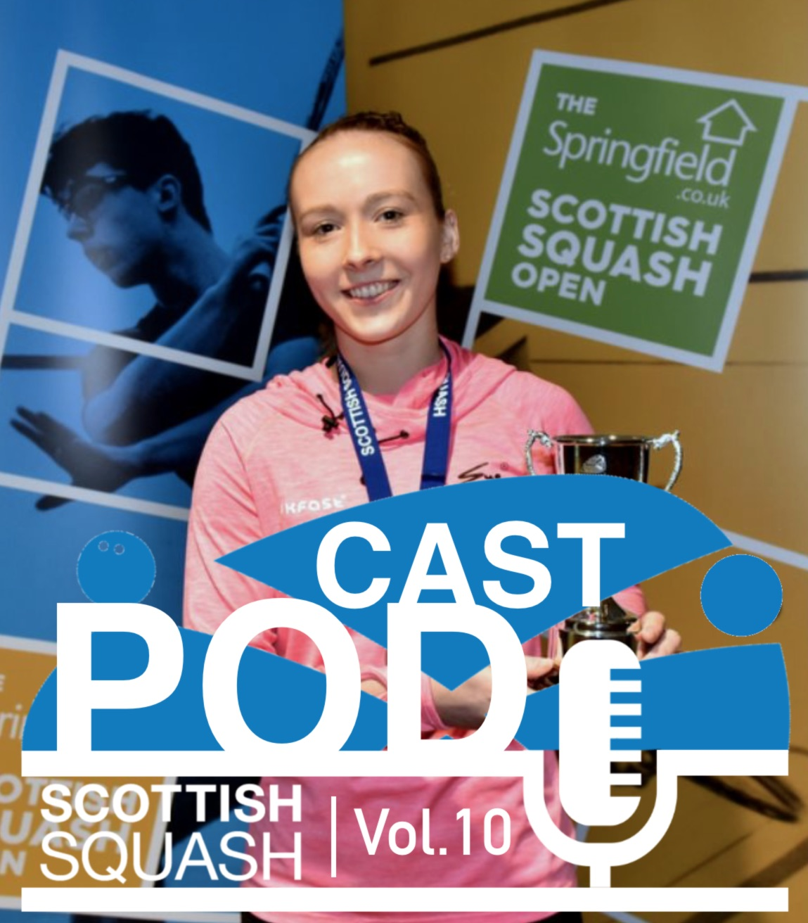 Scottish Squash Podcast - Vol.10 - Springfield SS Open Review