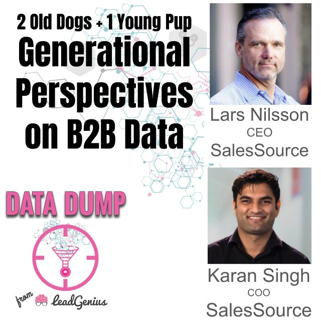 Two Old Dogs and a Young Pup - Generational Perspectives on B2B Data