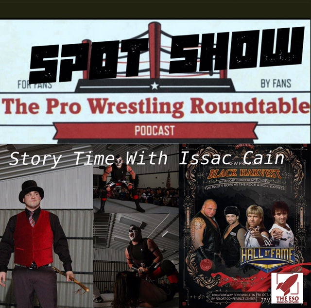 Spot Show: Story Time With Issac Cain