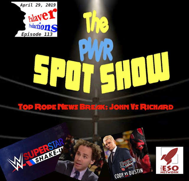 Top Rope News Break: John vs Richard