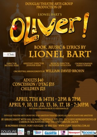 "Alteouise DeVaughn And Michael Kerr talk to Paul about the musical 'Oliver"" starting at the Clink April 7th"