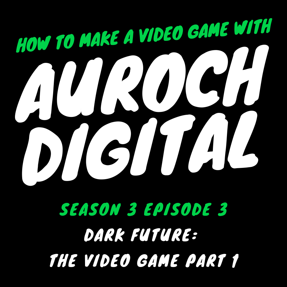 How to make Dark Future, the video game