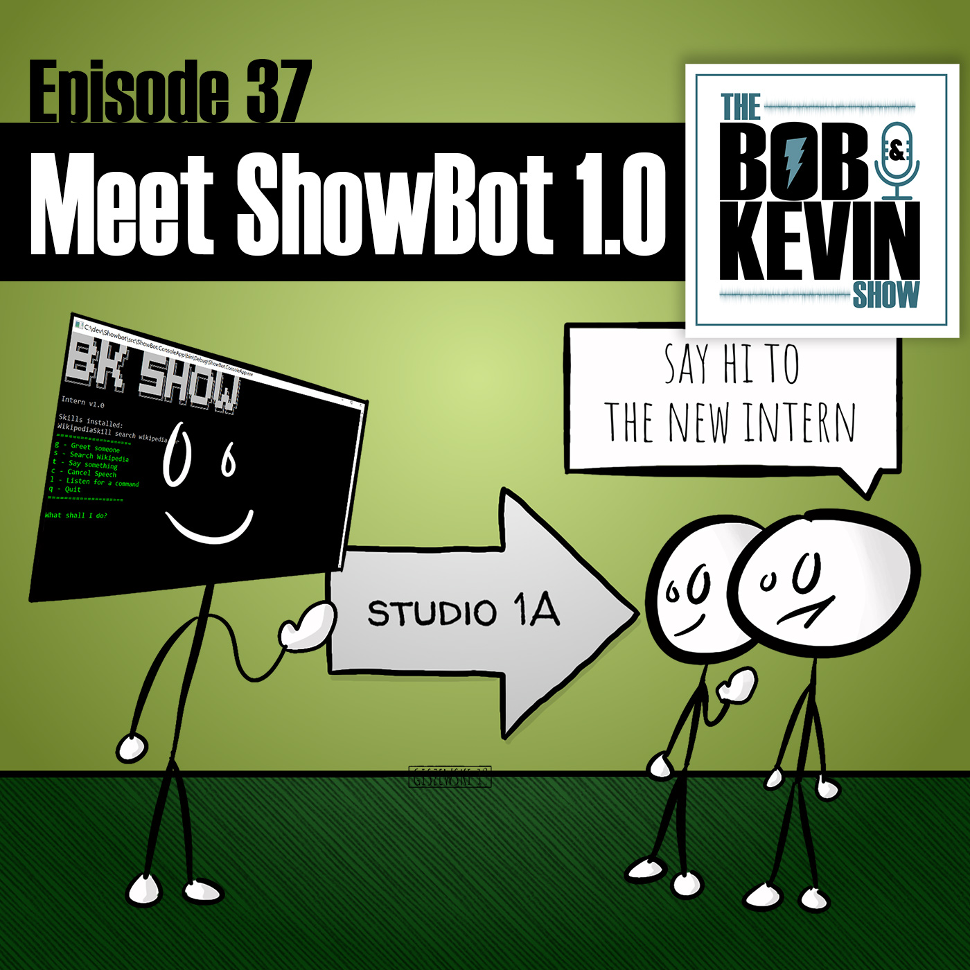 Ep  037 - Meet our new AI Showbot intern  Plus discussions