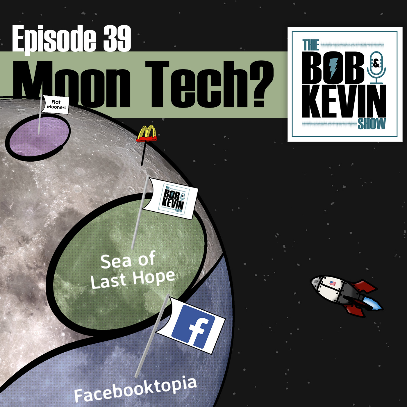 Ep. 039 - Technology on the moon, space travel to mars, Joe Rogan #1309 with Naval Ravikant and a bunch more!