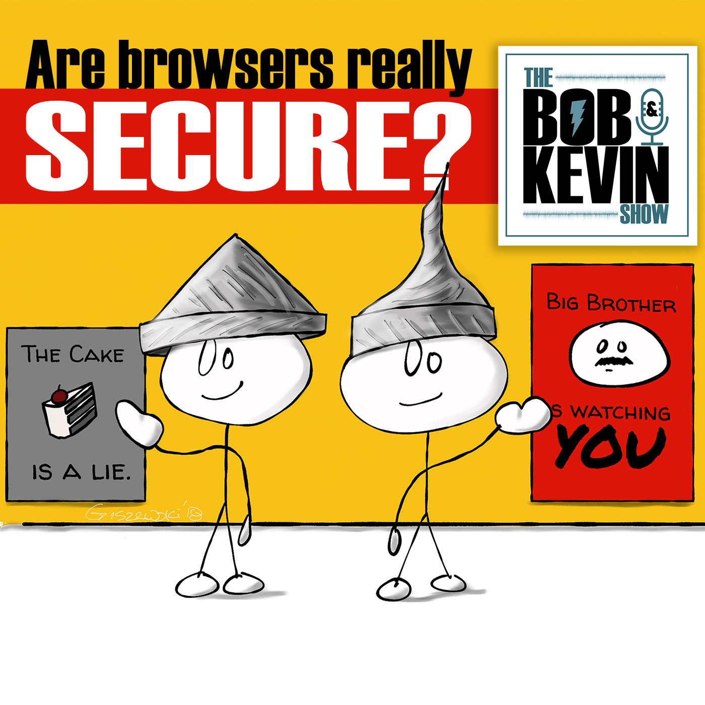 Ep. 019 - How much privacy do our browsers really give us, and are there alternatives?