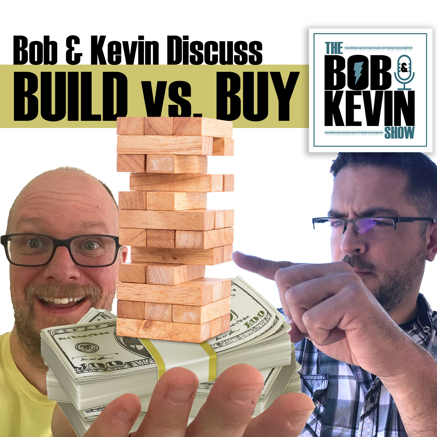 Ep. 014 - Build vs. Buy - websites, software, barbecue monitoring web servers and more.