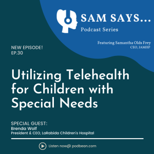 Ep. 30:  Utilizing Telehealth for Children with Special Needs