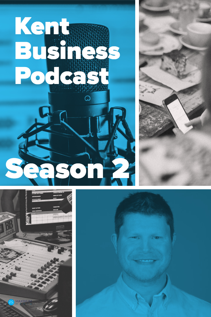 Kent Business Podcast Season 2 w/ Paul Goggin from Innovo Consulting