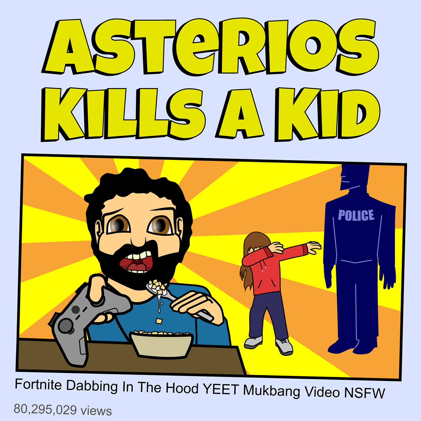 Asterios Kills A Kid #4: Positivity: Fake It 'Till You Make It